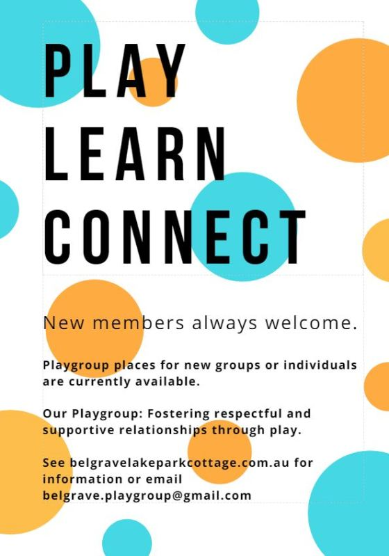 Poster Play Learn Connect 2018