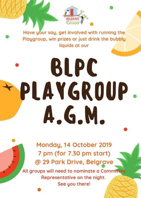 BLPC AGM 2019 poster