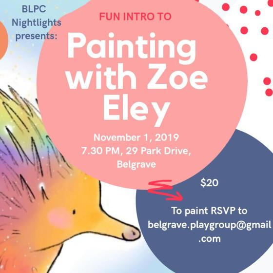 Zoe Eley Painting Square